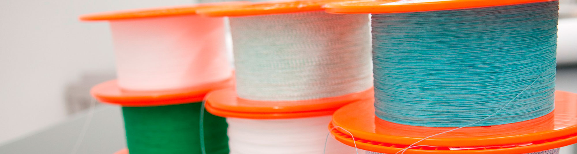Raw materials for textile implants manufacturing